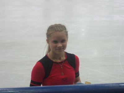 Irina MOVCHAN (UKR) - Championnats d'Europe de patinage ...