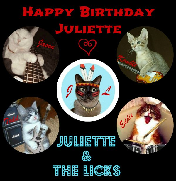 Happy Birthday Juliette!!!