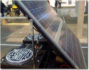 Platines solaires, le 3S, le son sans la prise