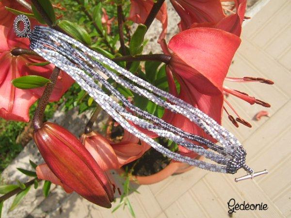 Bracelet multi spirales
