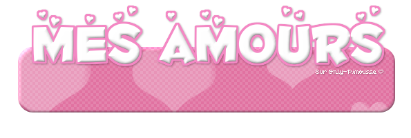 •• Mes amours  | Article n�06 | > Only-Pimousse �