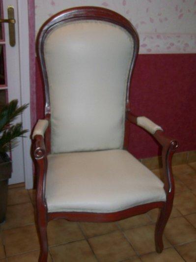 fauteuil voltaire relook blog de micheleartetlamaniere. Black Bedroom Furniture Sets. Home Design Ideas