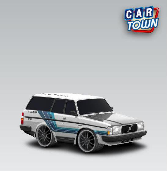 volvo 240 dl 1993 serty car town tuning. Black Bedroom Furniture Sets. Home Design Ideas