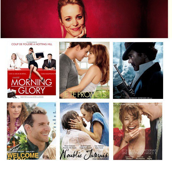 My TOP 3 Sp�cial Rachel Mcadams