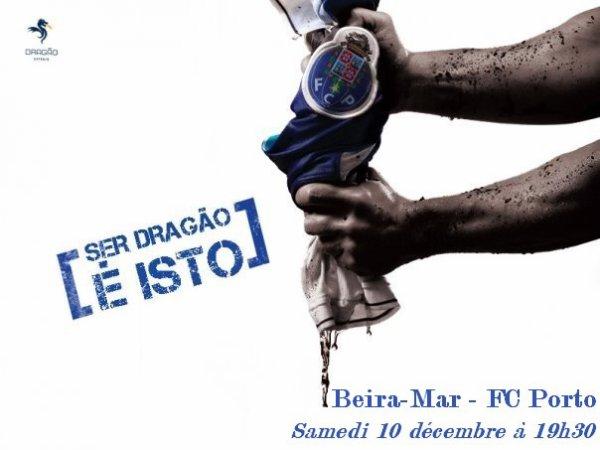 12ème journée Liga Zon Sagres: Beira-Mar 1-2 FC Porto