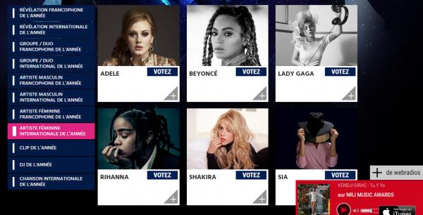 """NEWS : Shakira sur le nouvel album de Black M ? + """"Dance"""" + NRJ Music Awards."""
