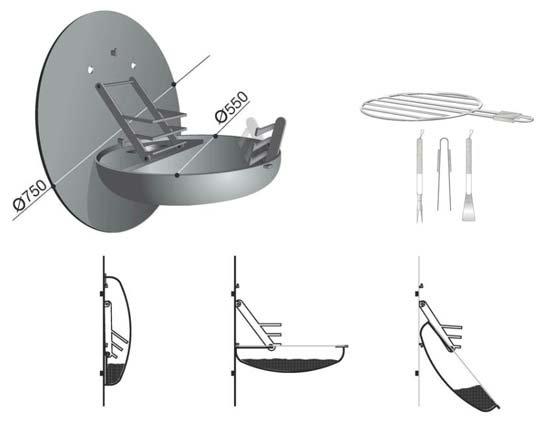 un barbecue mural vu par b a pour lorraineblog lorraineblog. Black Bedroom Furniture Sets. Home Design Ideas