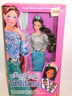 1986 Barbie whitney jewel secret