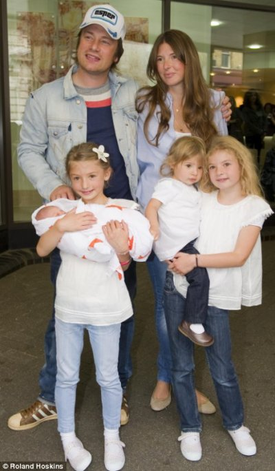 La Famille Jamie Oliver Famille De Stars Et De Sportifs