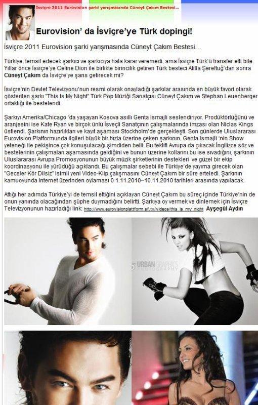 Genta Ismajli - Ne gazeta elektrone te Turkis