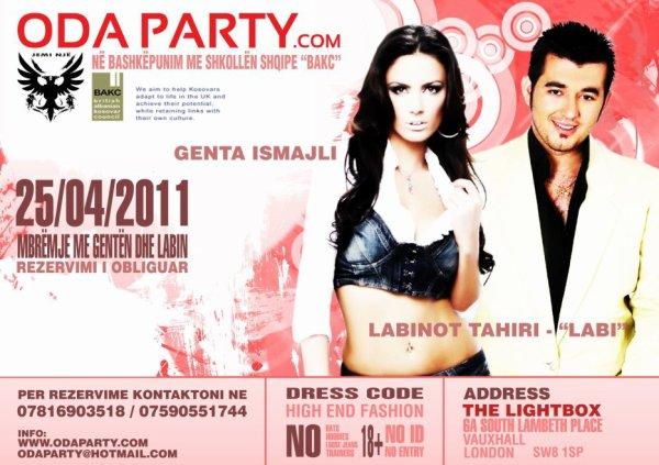 Genta Ismajli & Labi - Koncert ne Londer - 25.04.11