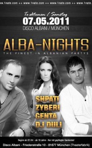 Genta Ismajli - Alba-Nights concert ne Munchen - 07.05.11