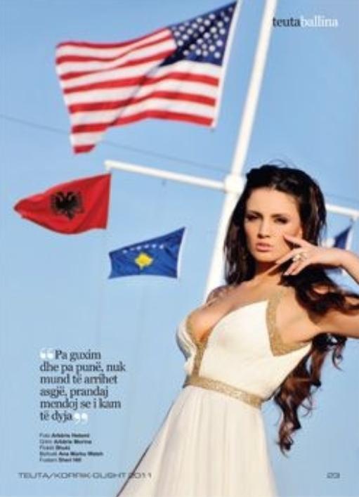 Genta Ismajli - Revista Teuta 2011