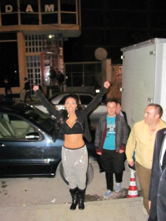 Genta Ismajli - Koncert ne Elbasan - 13.03.2012