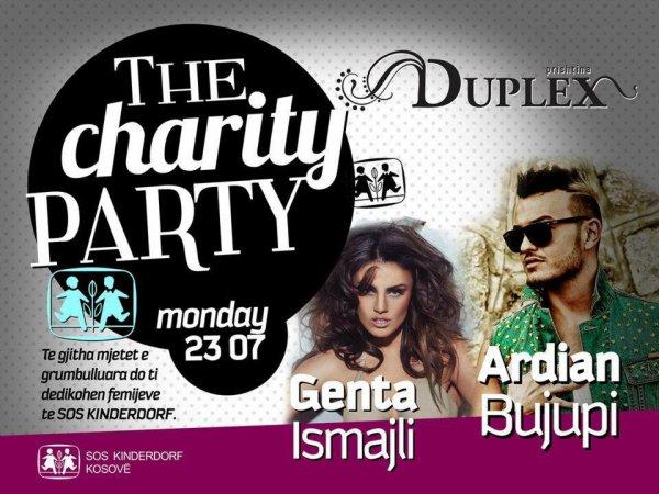 Genta Ismajli & Ardian Bujupi - Mbrëmje humanitare Duplex 23.07.12