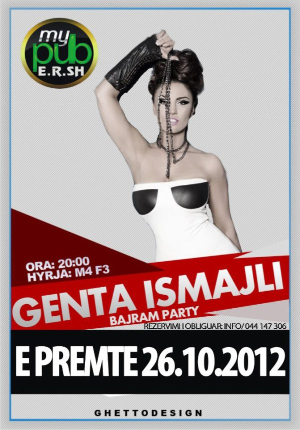 Genta Ismajli - 26.10.12 - Prizren