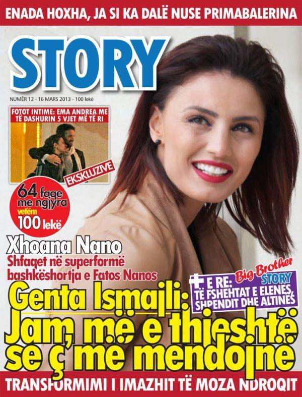 Genta Ismajli - Ballina e Revistes Story