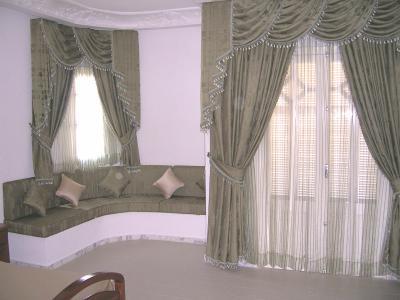 La chambre du 1er gar on coin rideau et salon for Rideau pour porte de salon