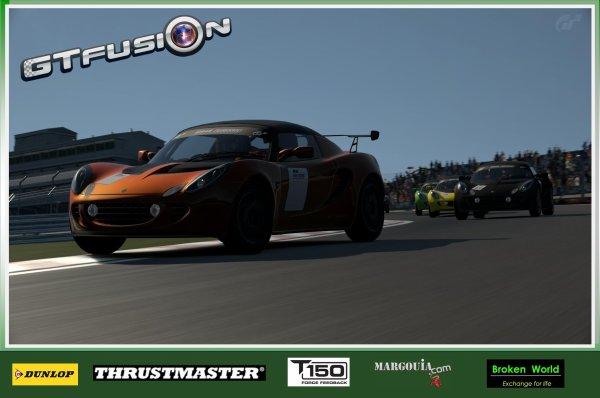 GTfusion Round 4 2016 - Gran Turismo World Championship - Training Pictures