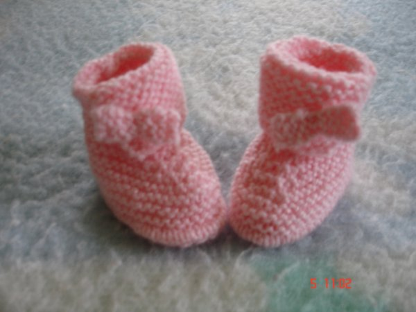 chaussons pour BB fille