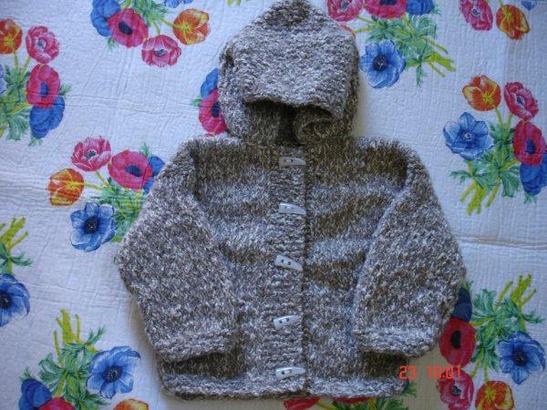 manteau pour B�b� fille portant du 6 mois