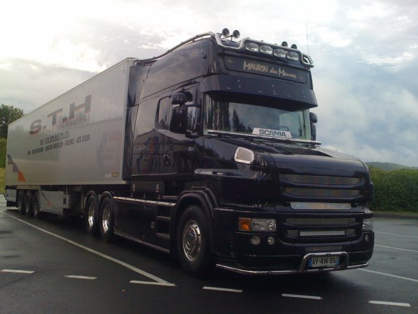 Scania torpedo longline camions decores et tuning for Interieur scania longline