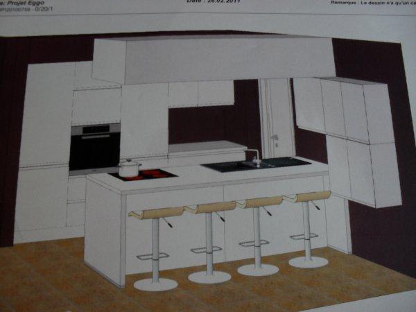 Plan de notre future cuisine eggo blog de maison team for Cuisine eggo