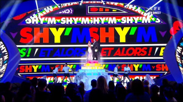 NRJ Music Awards 2013 : le mariage de Shy'm