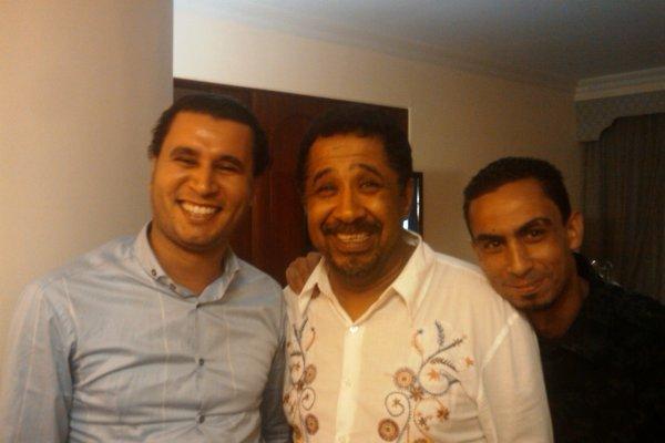 Khaled and Adnane in Ramadan