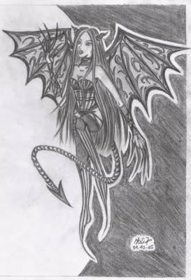 Diablesse dernier dessin halloween meili07 dessin dessin dessin - Dessin diablesse ...
