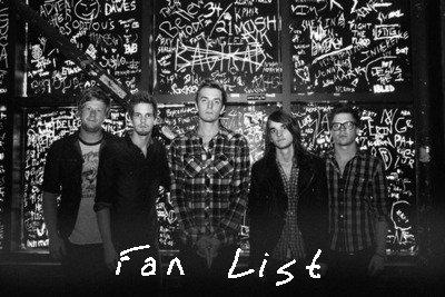 La Fan Liste !
