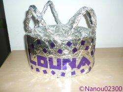 Fabrication d 39 une couronne des rois le coin des p 39 tits loups - Couronne de roi a fabriquer ...