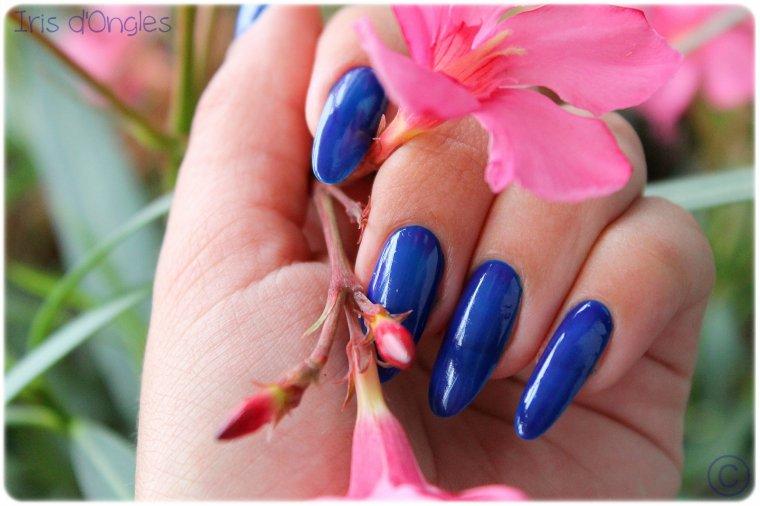 Test vernis \u0026quot;Azul Hortênsia\u0026quot; de chez RISQUÉ.