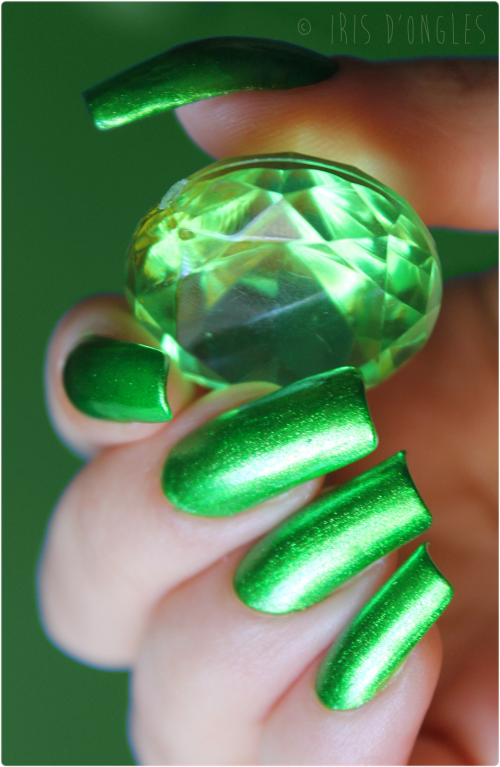 Test: vernis N�163 Metallic Green de chez KleanColor !