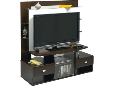 meuble tv teneo wenge table de lit. Black Bedroom Furniture Sets. Home Design Ideas