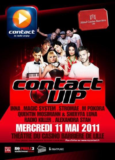 [11.05] CONCERT : Plateau Contact Fm � Lille