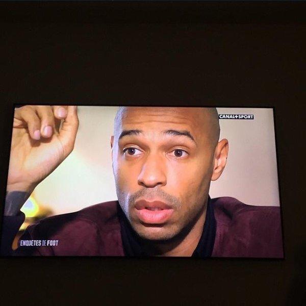 Nostalgique... Thierry Henry  #legende #canal+sport