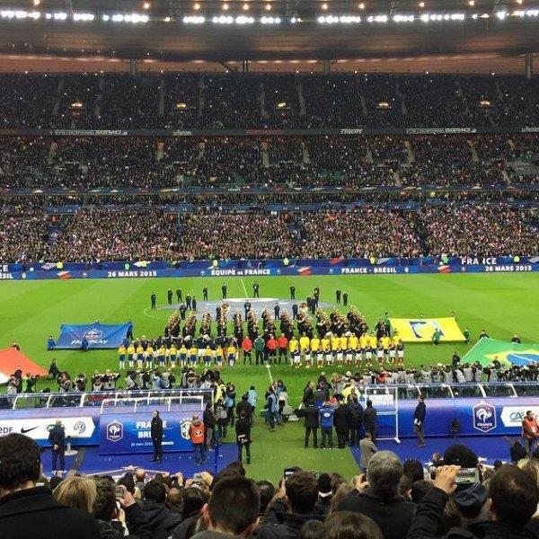 On est venu, on a vu, on a perdu... On fera mieux la prochaine fois... #FRANCEBRESIL