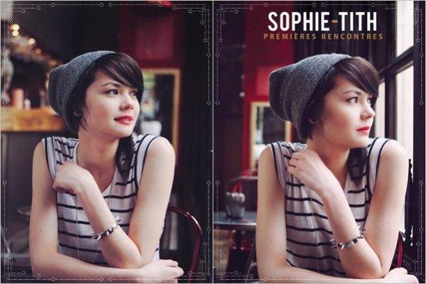 La sortie de l' album de sophie tith est  pr�vue pour le 1er juillet 2013