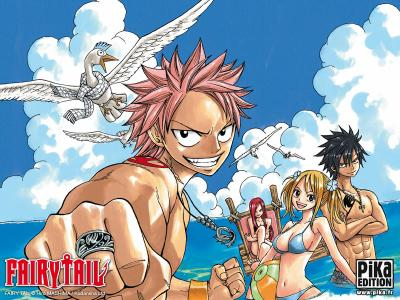 R�sum� de fairy tail+NEWS