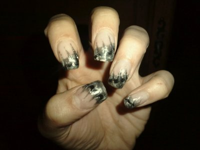 deco ongle marbre