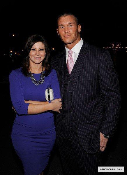 Randy Orton and his beautiful wife Samantha Festival 2011 Santa Barbara, California.