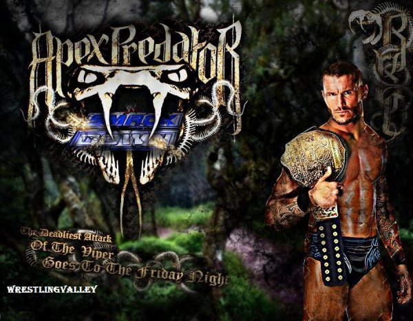 THE WWE APEX PREDATOR IS COME SMACKDOWN!!!!!!