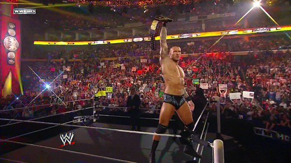 RANDY ORTON THE NIGHT OF CHAMPIONS 2011.