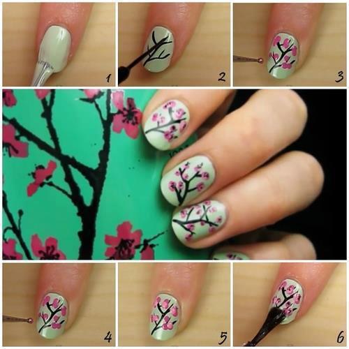 nail art japonais tuto