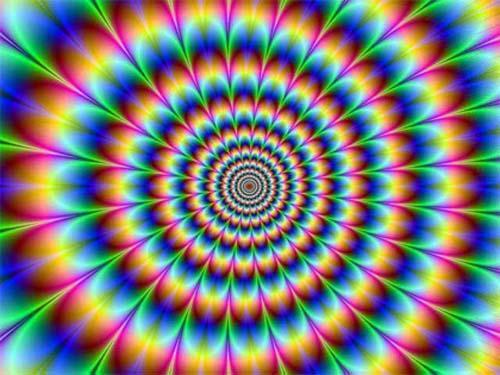 Bienvenue dans le monde des illusions d'optique!