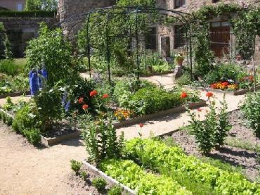 le jardin de cur le jardin et les fleurs