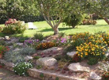 La rocaille le jardin et les fleurs - Modele de rocaille de jardin ...