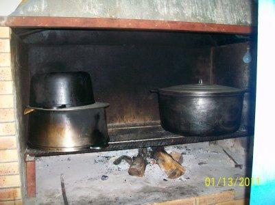 La cuisine au feu de bois cazamelie location saisonniere - Cuisine au feu de bois ...