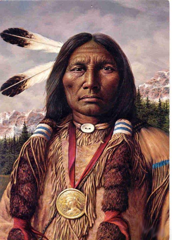 Salutation des Sioux Lakota